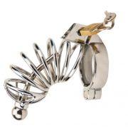 Impound Corkscrew Metal Cock Cage