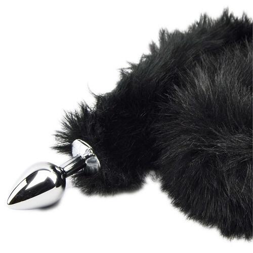 Furry Fantasy Black Panther Plug
