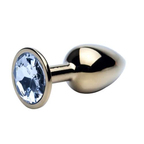 Precious Metals Jewelled Butt Plugs
