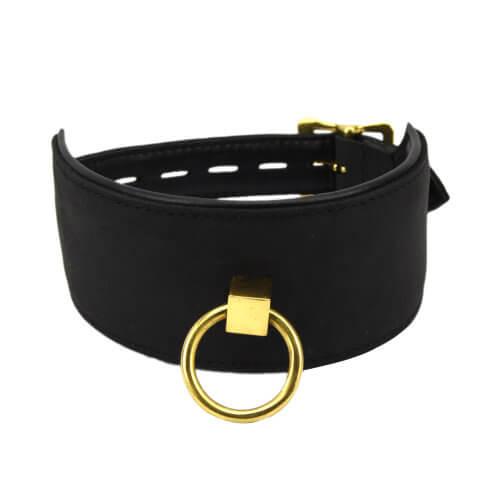 Bound Noir High Quality Bondage Collar