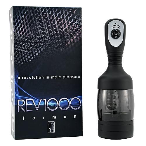 REV1000 Rotating Male Masturbator with Box